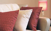 relaxing sofa cushions